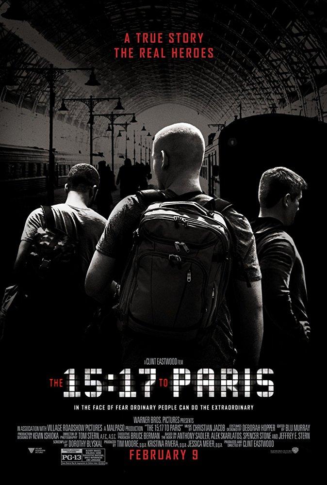 15시 17분 파리행 열차 (The 15:17 to Paris, 2018)