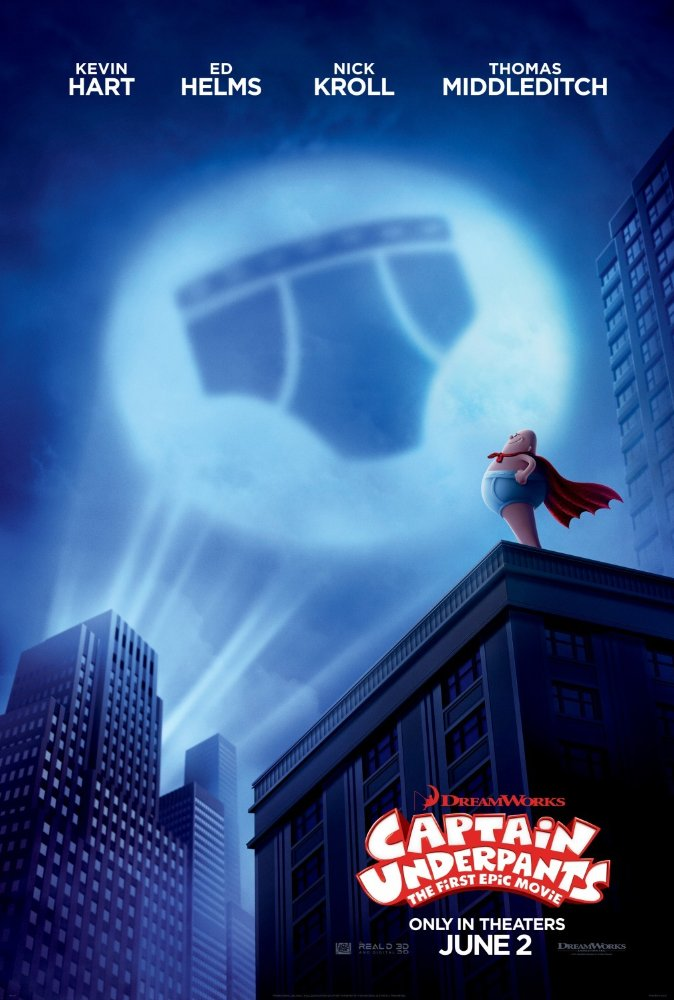 캡틴 언더팬츠 (Captain Underpants : The First Epic Movie, 2017)