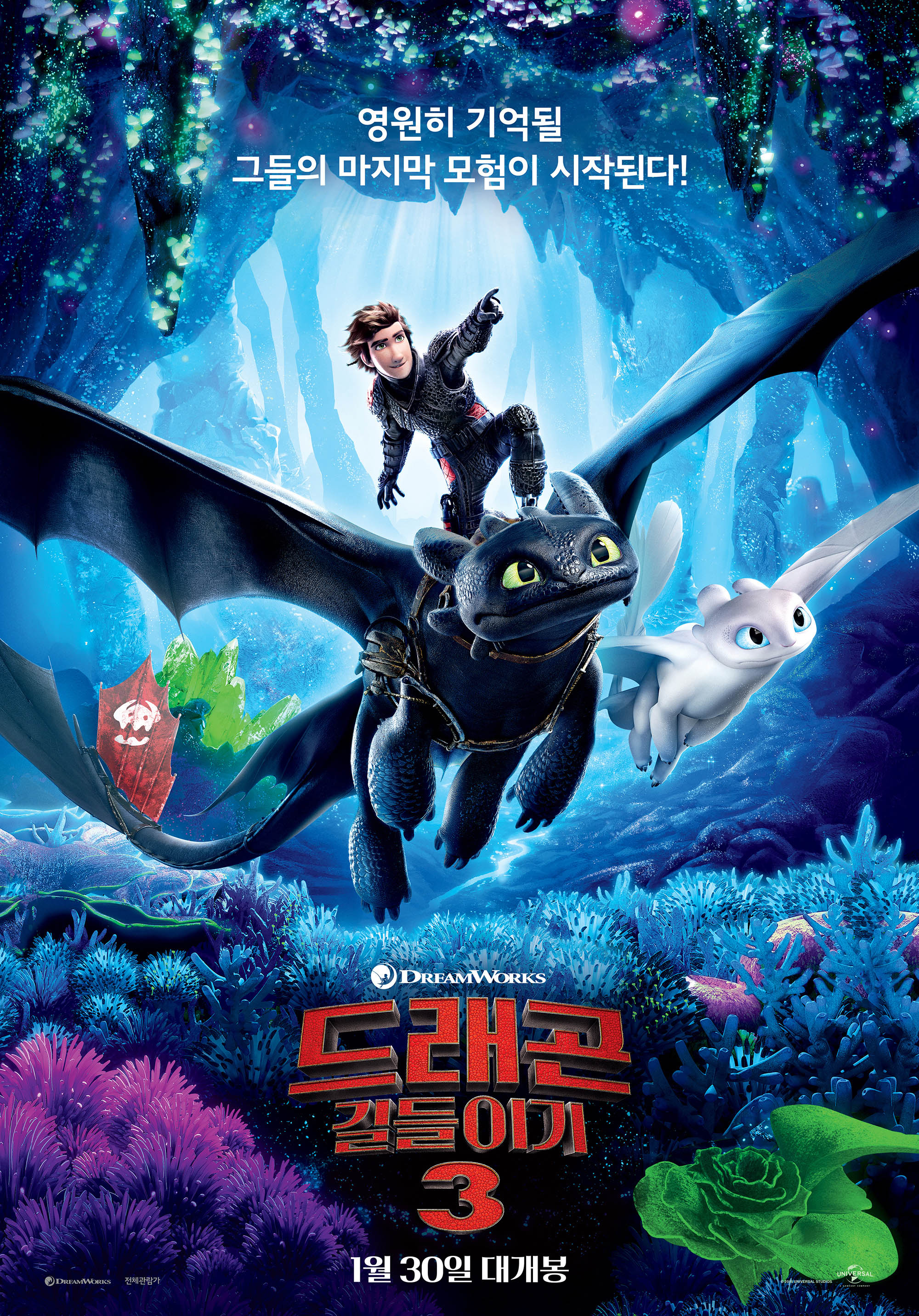 드래곤 길들이기 3 (How to Train Your Dragon : The Hidden World, 2019)
